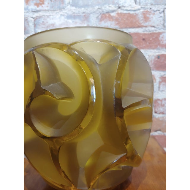 1920s Renee Lalique No.973 Tourbillons Vase For Sale - Image 5 of 11