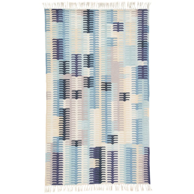 Jaipur Living Carver Indoor/ Outdoor Abstract Blue/ Gray Area Rug - 8' X 10' For Sale In Atlanta - Image 6 of 6