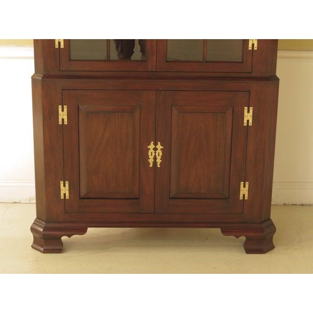 Henkel Harris Mahogany Welford Corner Cabinet - Image 3 of 11