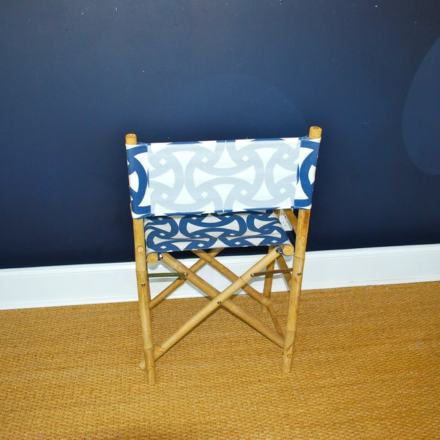 Bamboo Director's Chairs - Set of 4 - Image 5 of 7