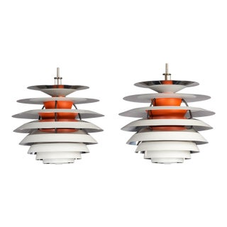 Danish PH Contrast Lamp by Poul Henningsen for Louis Poulsen, 1962 - a Pair For Sale