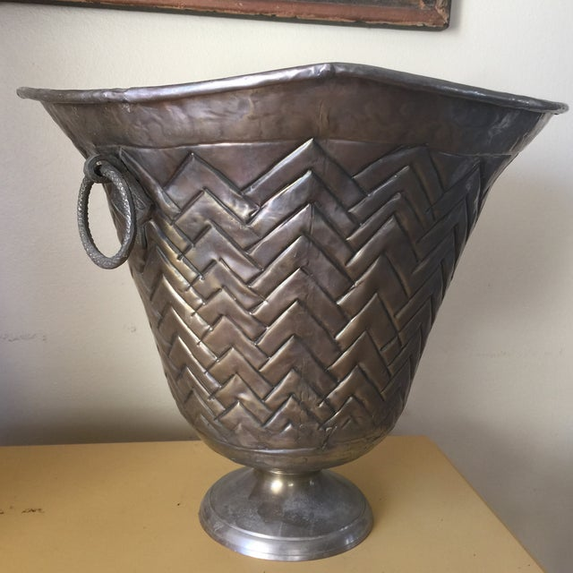 Engraved Metal Vessel Ice Bucket - Image 7 of 10