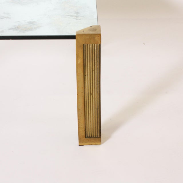 Peter Ghyczy Peter Ghyczy Coffee Table With Smoked Glass Top C. 1970 For Sale - Image 4 of 6