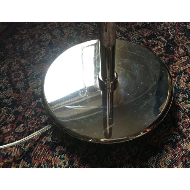 Ralph Lauren Polished Nickel Floor Lamps - A Pair - Image 8 of 10