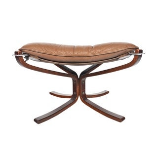 Sigurd Ressell Falcon Chair Ottoman For Sale