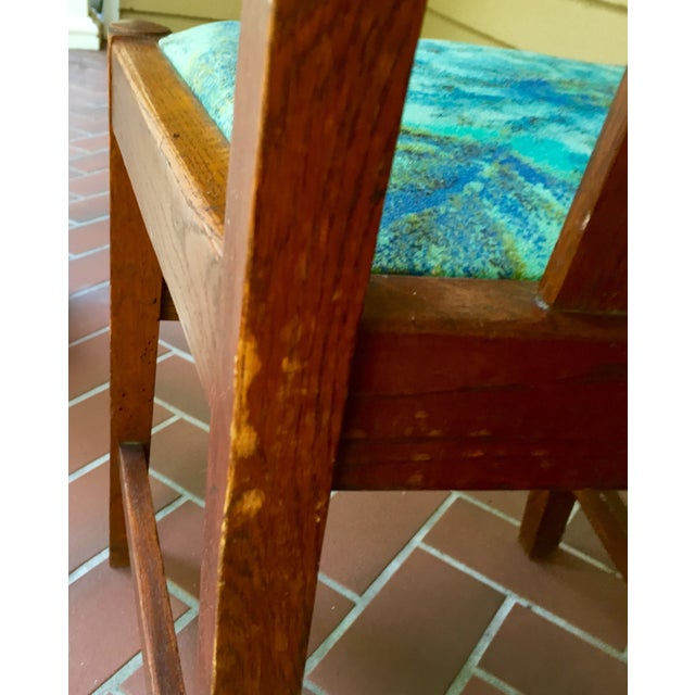 Mission Dining Chairs - A Pair - Image 10 of 10