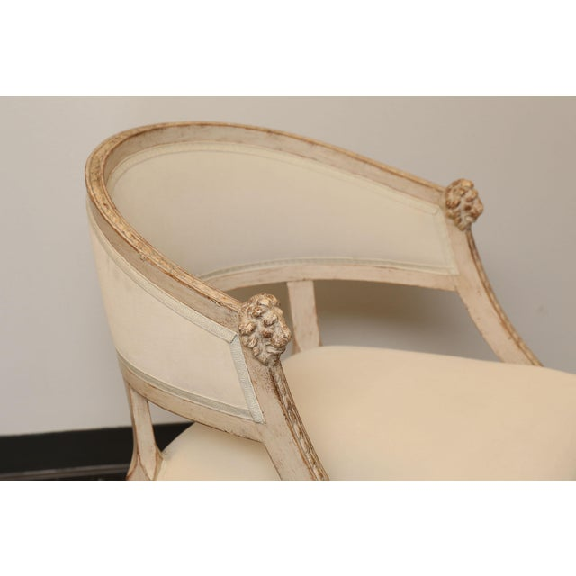 Pair of 19th Century Gustavian Barrel Back Chairs - Image 7 of 10