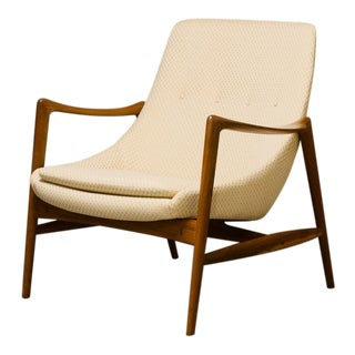 1960s Vintage Adolf Relling for Dokka Møbler Scoop Chair For Sale