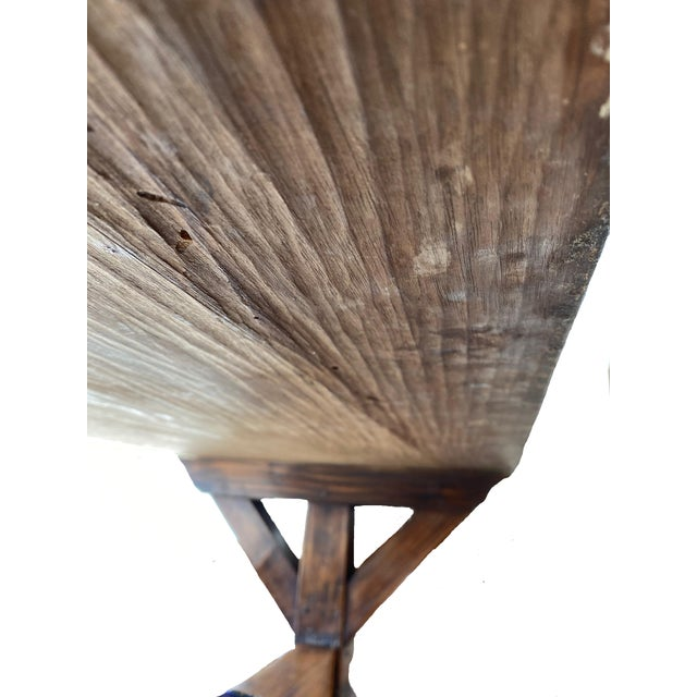19th Century Provençal Trestle Farm Table For Sale - Image 11 of 11