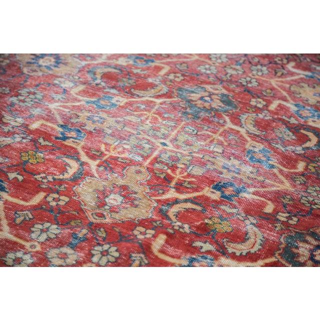 "Antique Persian Mahal Carpet - 7'1"" x 10'1"" - Image 3 of 9"
