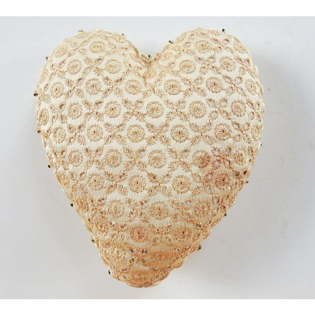 Early 20th Century Antique Sweetheart Remember Me Pincusion For Sale - Image 5 of 7