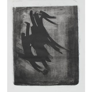 Barbara Lewis Monochromatic Abstract, Lithograph on Paper, 1971 For Sale