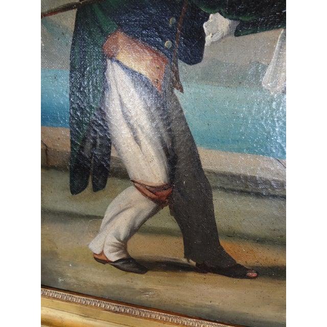 Italian 19th Century Italian Painting For Sale - Image 3 of 11