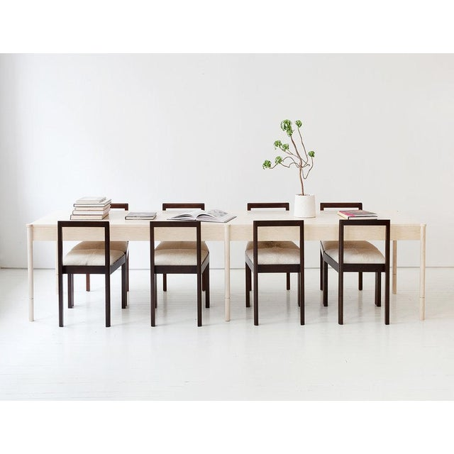 Modern Egg Collective Russell Dining Table For Sale - Image 3 of 4