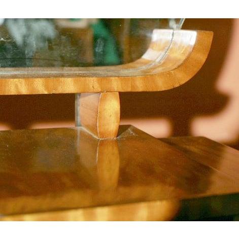 Art Deco Vanity With Mirror - Image 4 of 7