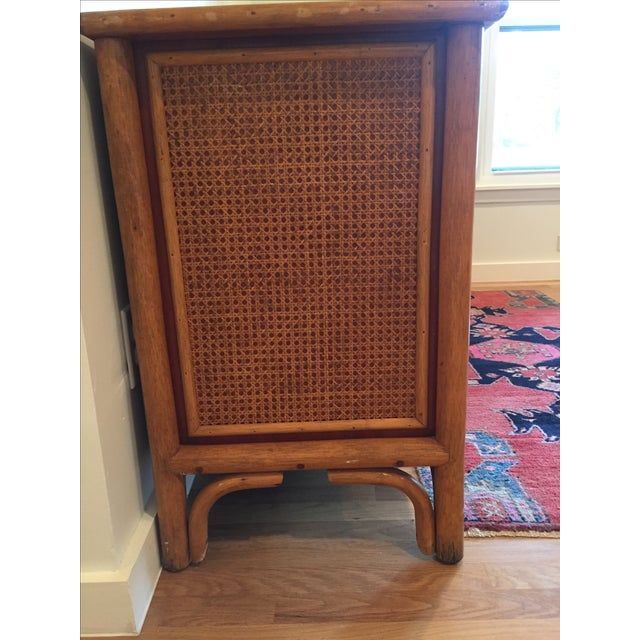 Vintage Rattan Buffet - Image 11 of 11