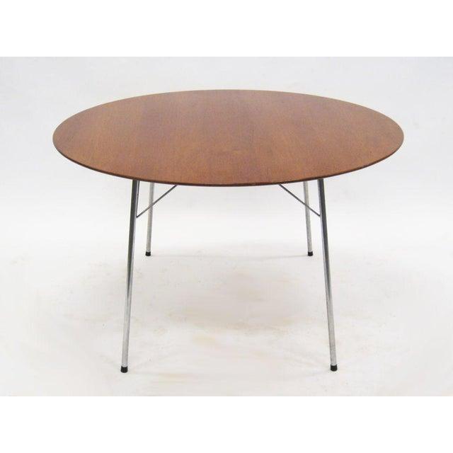 Model 3600 dining table by Arne Jacobsen for Fritz Hansen - Image 3 of 7