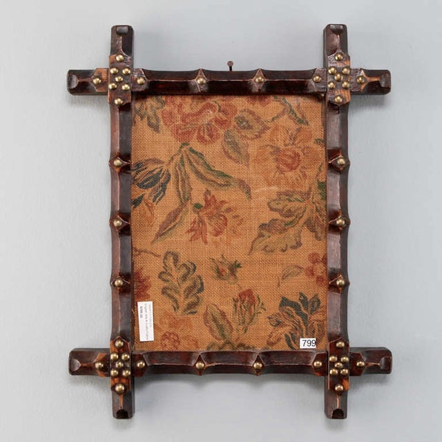 19th Century Small English Arts and Crafts Frame - Image 3 of 5