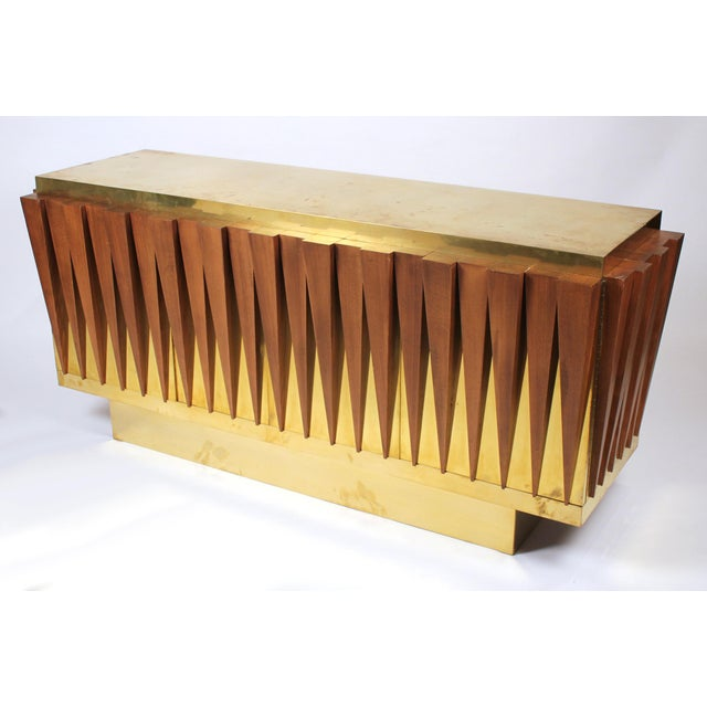 1970s Custom Paolo Buffa Attributed Credenza for Hotel in Italy For Sale In Dallas - Image 6 of 10