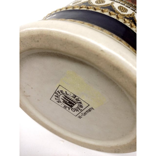 Vintage Anheuser Busch Stoneware Beer Stein For Sale - Image 5 of 8