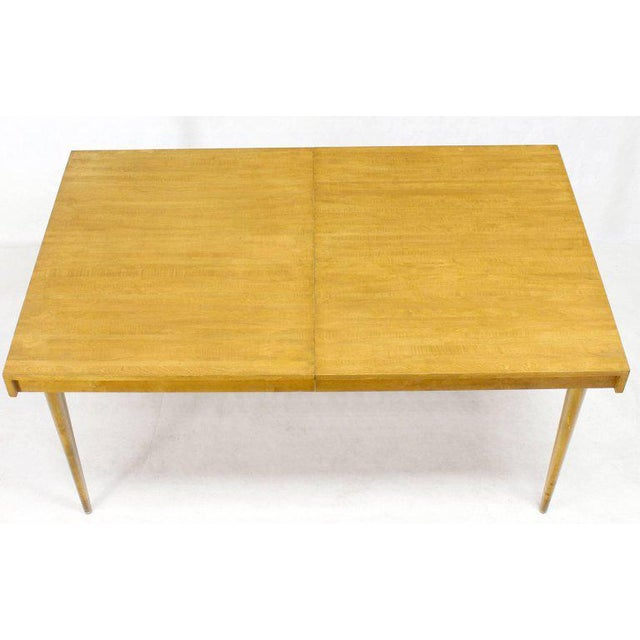 Edmond J. Spence Swedish Blond Birch Dining Table W/ Two Extension Leafs For Sale - Image 10 of 11