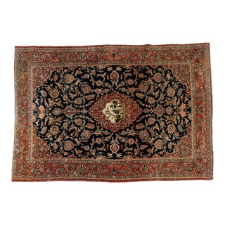 Mid-20th Century North American Hand Knotted Wool Rug For Sale