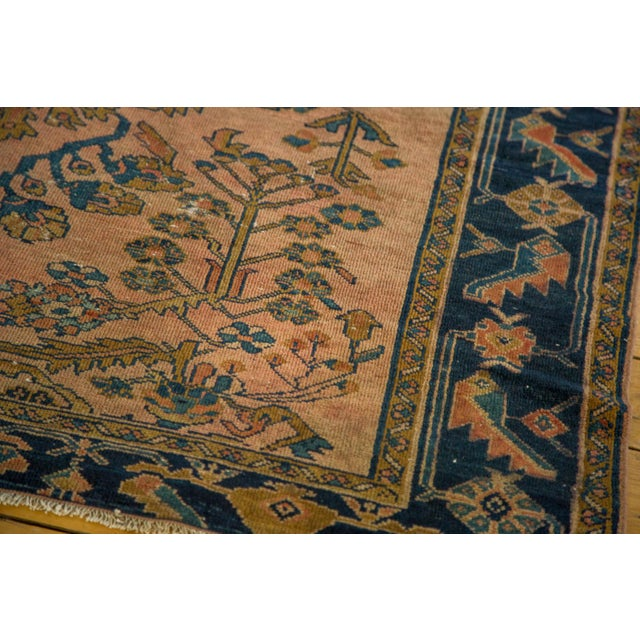 "Antique Lilihan Square Rug - 5' X 5'9"" - Image 6 of 9"