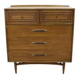 Image of Mid-Century Modern Broyhill Premier Sculptra Tall Chest of Drawers For Sale