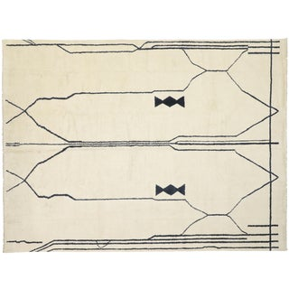 Contemporary Moroccan Area Rug - 12′1″ × 15′11″ For Sale