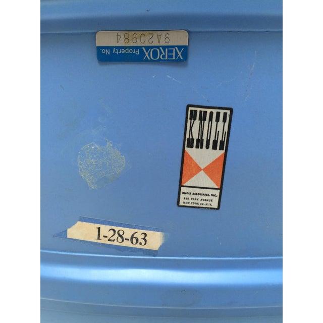 Knoll Bertoia Fiberglass Side Chair Blue - Image 6 of 11