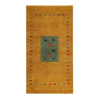 Pasargad Hand Knotted Gabbeh Rug- 2′11″ × 5′6″ For Sale