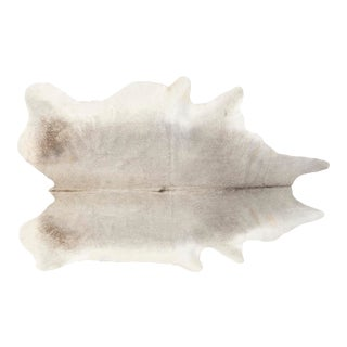 Silver Genuine Brazilian Cowhide For Sale