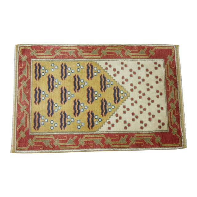Vintage Turkish Anatolian Rug - 1'11'' x 3' - Image 1 of 3