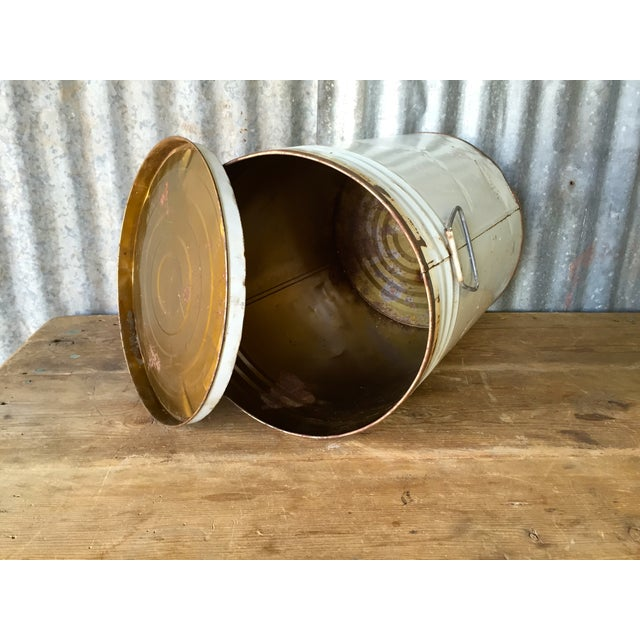 Vintage Lard Container From Oklahoma For Sale - Image 5 of 11