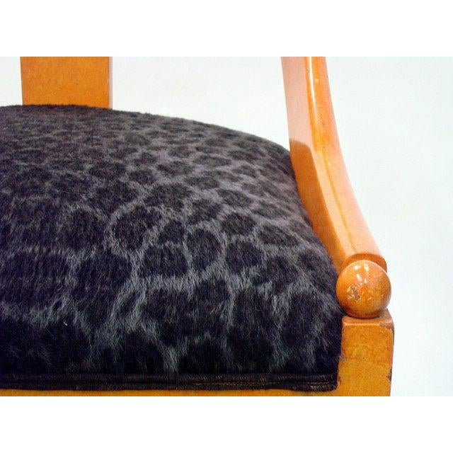 Michael Taylor for Baker Neoclassic Spoonback Chairs - a Pair For Sale In New York - Image 6 of 9