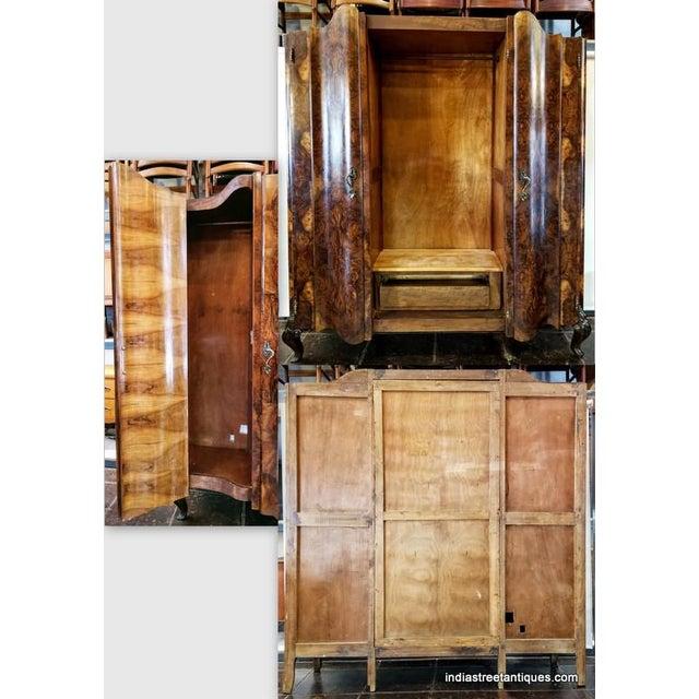 Antique Italian Olive Wood Neo-Rococo Venetian Baroque Six Piece Bedroom Suite For Sale - Image 11 of 13