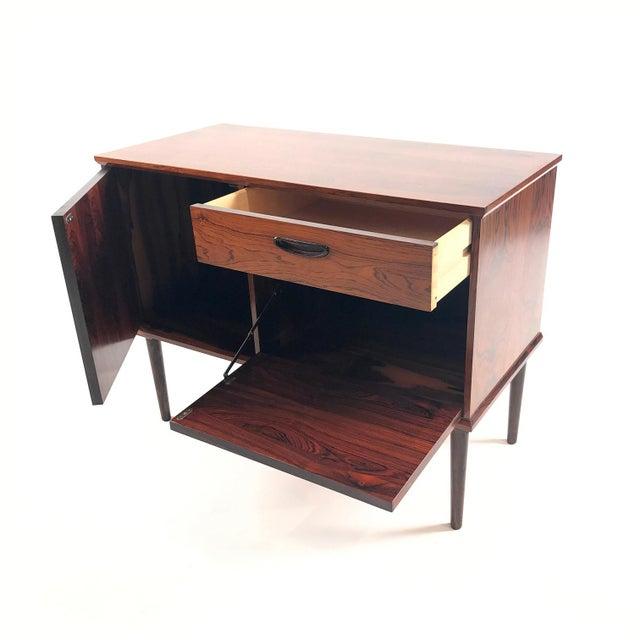 Vintage Danish Rosewood Cabinet - Image 9 of 10