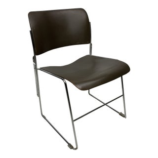 Mid-Century Modern David Rowland Stacking Chair For Sale