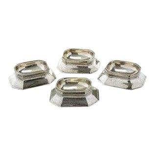 Tiffany Sterling Salt Cellars - Set of 4 For Sale