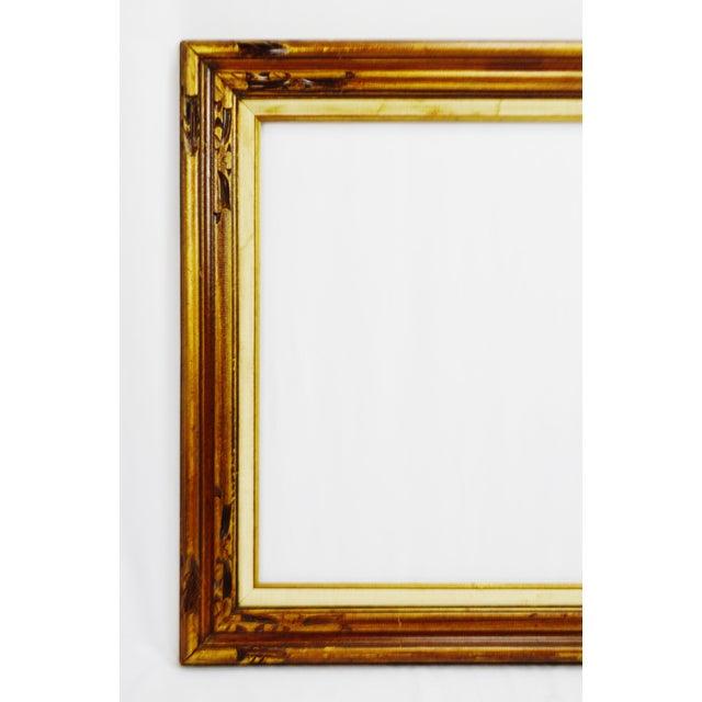 Vintage Wood Picture / Mirror Frame   Chairish