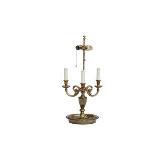 Bouillotte Table Lamp by Paul Hanson For Sale