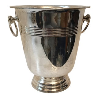 William Adams Towle Silver Plate Champagne Bucket For Sale