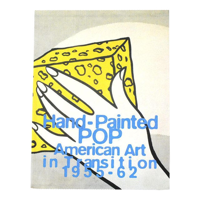 """""""Hand-Painted Pop: American Art in Transition 1955-62"""" Vintage Pop Art Book For Sale"""