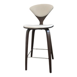 Cherner Leather Upholstered Counter Stool