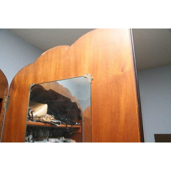 Vintage Wooden Armoire - Image 6 of 11