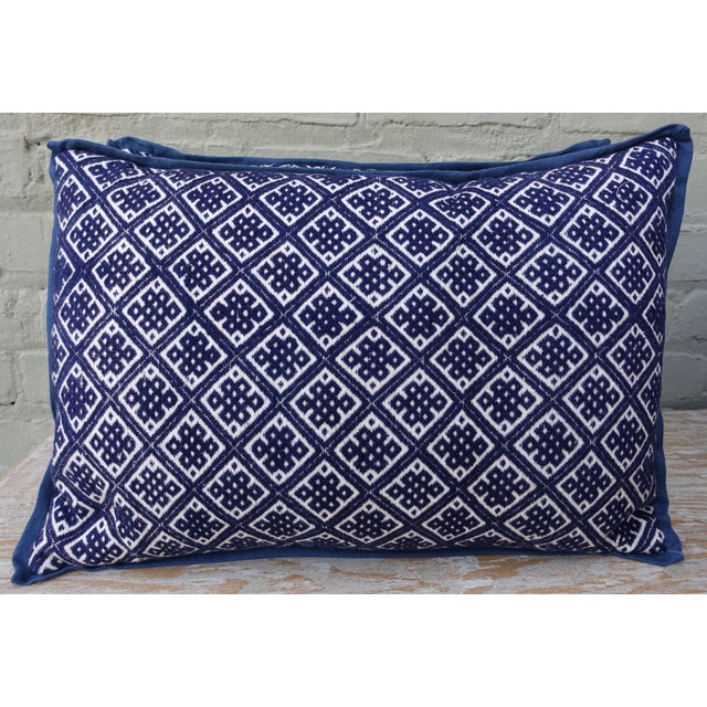 Pair of Cotton Woven Hmong Pillows. - Image 2 of 6