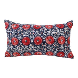Ruby Bohemian Woven Pillow Cover