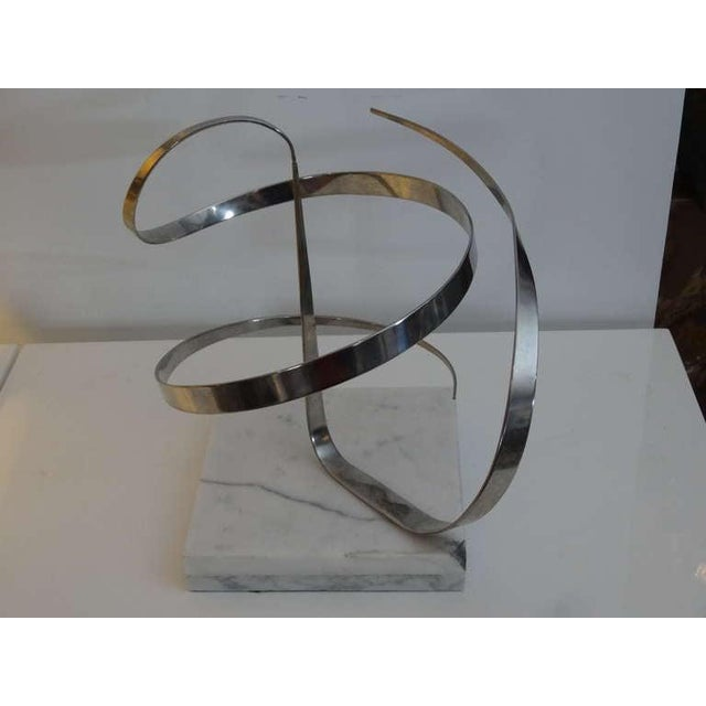 Abstract Early Michael Cutler Kinetic Sculpture, 1977 For Sale - Image 3 of 7