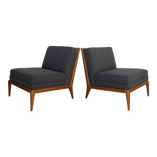 T. H. Robsjohn-Gibbings for Widdicomb Lounge Chairs - A Pair For Sale