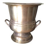 Image of 1940s Brass Champagne Bucket For Sale
